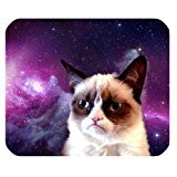 galaxy-space-grumpy-cat-customized-rectangle-office-mousepad
