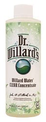 Dr. Willard's Water Clear Concentrate, 8oz