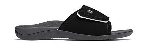 321ee0f159ca Orthaheel Men s   Women s Kiwi Slide Sandals (Men 8   Women 9 Black