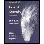 Essentials of General Chemistry, Ebbing, Darrell, 0618491775