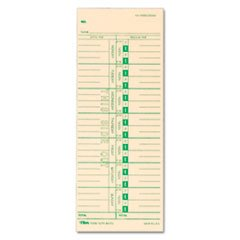MotivationUSA Time Card for Acroprint, IBM, Lathem and Simplex, Weekly, 3-1/2 x 9, 500/Box by MotivationUSA