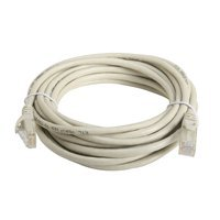 24AWG 15ft Cat6 Ethernet Network Patch Cable Beige Molded