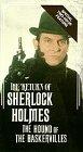 Sherlock Holmes: Hound of Baskervilles [VHS]