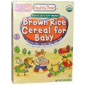 Healthy Times, Special Nourish, Organic Brown Rice Cereal for Baby, 8 oz (227 g) pack of 3 by Healthy Times,
