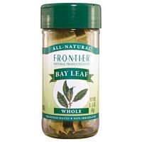 Frontier Herb Whole Bay Leaf, 0.15 Ounce -- 6 per (0.15 Ounce Bottle)