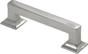 Collection Hickory (Hickory Hardware P3011-14 Studio Collection Cabinet Pull, 3.78-Inch, Bright Nickel by Hickory Hardware)