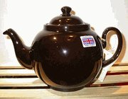 "Brown Betty 4 Cup Teapot - Look for ""Original Staffordshire Brown Betty"" Embossed on the base of the Teapot for Quality and Authenticity - Made in England Not China"