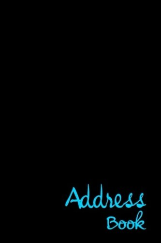 Address Book: Glossy And Soft Cover, Large Print, Font, 6