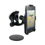 Arkon Windshield Dash and Console Mount for iPhone - Black