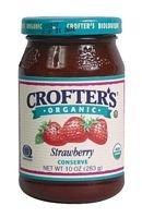 Crofters Organic Strawberry Conserve, 16.5 Ounce -- 6 per case.