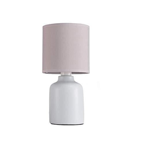 WANJIN Lámpara de Mesa de cerámica Dormitorio lámpara de Mesa Junto a la Cama Creativa romántica Boda cálida Simple...