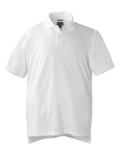 adidas Golf Men's Climacool Mesh Solid Textured Polo, White, 2XL