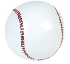 2 Dozen Inflatable Baseballs (9