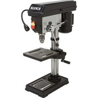 Klutch 10in. Bench Mount Drill Press - 1/2 HP, 5-Speed