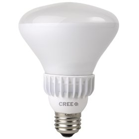 Cree 9.5-Watt (65W) Soft White (2700K) BR30 Dimmable LED Flood Light Bulb with cleaning cloth