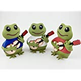 Coqui frogs figurines