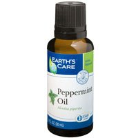 Earth's Care Peppermint Oil 100% Pure and Natural, 1 OZ