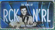 Elvis License Plate Rock n Roll ()