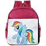 [Custom Cool Rainbow Horse Teenager Shoulders Bag For 1-6 Years Old Pink] (Jordy Costumes)