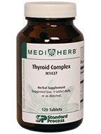 Standard Process MediHerb Thyroid Complex 120 Count by Standard Process
