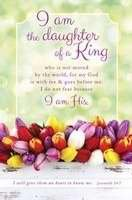 Price comparison product image Warner Press 301582 Bulletin - Womans Day - I Am The Daughter Of A King