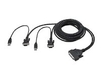 Belkin F1D9401-12 Enterprise 12' Dual Port USB KVM (12' Kvm Cable)