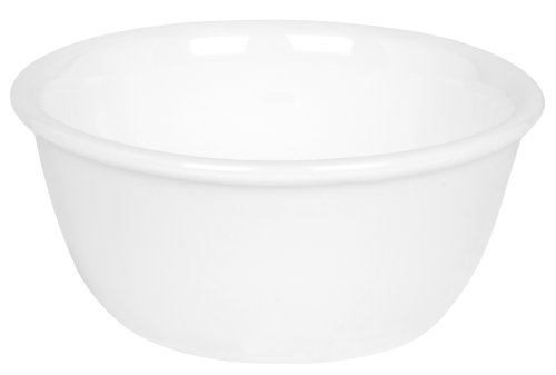 Corelle Livingware 6-Ounce Ramekin Bowl, Winter Frost White