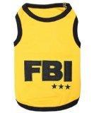Parisian Pet FBI Dog T-Shirt, 3X-Large