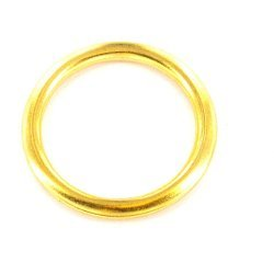 Brass Curtain Rings 25mm 1 Inch X12
