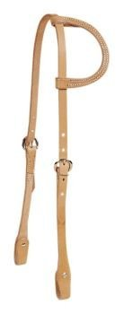 Tory Headstall - Tory Harness Leather Chicago One Ear Headstall