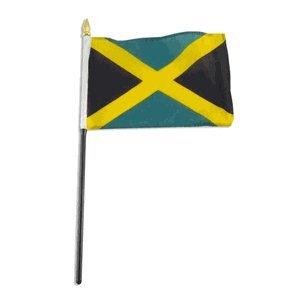 Jamaica Flag 4 x 6 inch