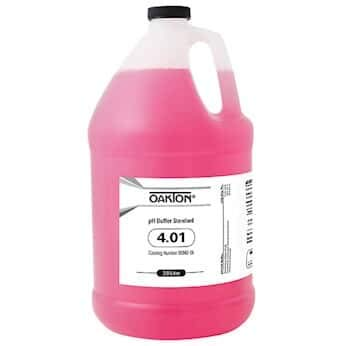 Oakton Buffer Solution, pH 4.01; 1 gal.