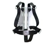 Storm Accessories Stainless Steel Technical Divers Back Plate with Harness & Crotch Strap by Storm Accessories