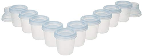 (Philips AVENT Breast Milk Storage Cups, 6 Ounce (Pack of 10))