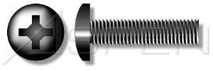 (6000 pcs) #6-32 X 7/16' Machine Screws, Pan Phillips Drive, 18-8 Stainless Steel, Black Oxide, Ships FREE in USA by Aspen Fasteners