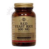 Solgar - Levure de riz capsules végétales Rouge - 120 T. 2 Pack