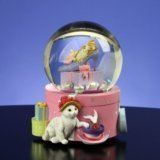 Cats on Hat Box - Water Globe by San Fransisco Music Box Co.
