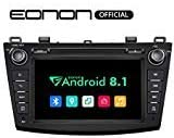 Eonon Car Stereo Radio 8 Android 8.1, 32G ROM Car GPS Navigation Head Unit, Compatible with Mazda 3 2010-2013 ,Support Bluetooth, WiFi Connection- GA9263B