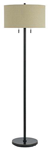 Cheap Cal Lighting BO-2450FL-DB Two Light Floor Lamp
