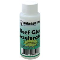 Boston Aqua Farms Reef Glue Accelerator 2oz with 1mL - Boston Glue