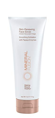 Mineral Fusion Face Scrub, Skin Renewing, 4 Ounce (Packaging May Vary)