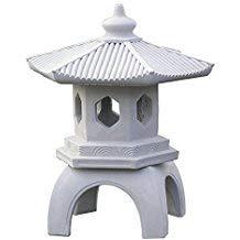 Cement PAGODA Lantern 16