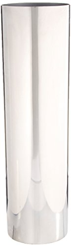 - Deco 79 90892 Cylindrical Stainless Steel Vase, 14
