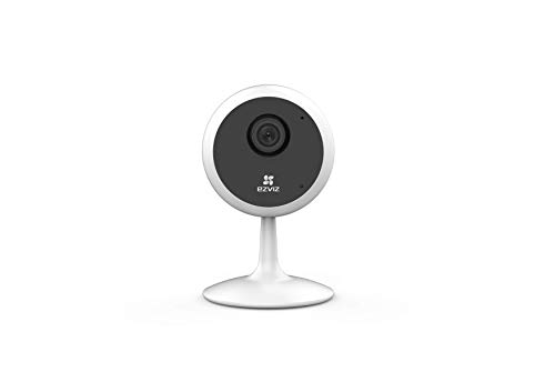 EZVIZ by Hikvision| C1C Wireless Camera for Home|720p Resolution|Wide Angle View|Night Viewing Upto 12m|Two Way Talk|Supports MicroSD Card Upto 256GB|