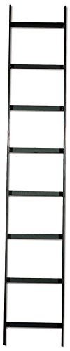 Data Ladder Rack (Hubbell Wiring Systems HLS0606B NextFrame Steel Straight Section Ladder Rack, 6' Length x 6