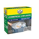 Member's Mark 45-50 gal.220 ct recycling Clear high density Commercial Trash Bags For ulky trash Clear High Density