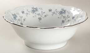 (Johann Haviland Blue Garland Round Vegetable Bowl)