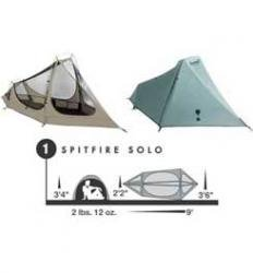 Eureka Spitfire Tent: 1-Person 3-Season One Color, One Size, Outdoor Stuffs