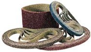 Medium 1 x 42 Maroon Surface Conditioning Belt With Low Stretch Backing