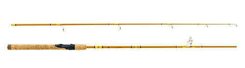 (Eagle Claw CG66MS2 Crafted Glass Spinning Rod, 6'6